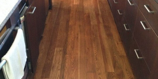 Hardwood Flooring - Kitchen Refinish