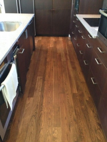 Kitchen Floor Refinish