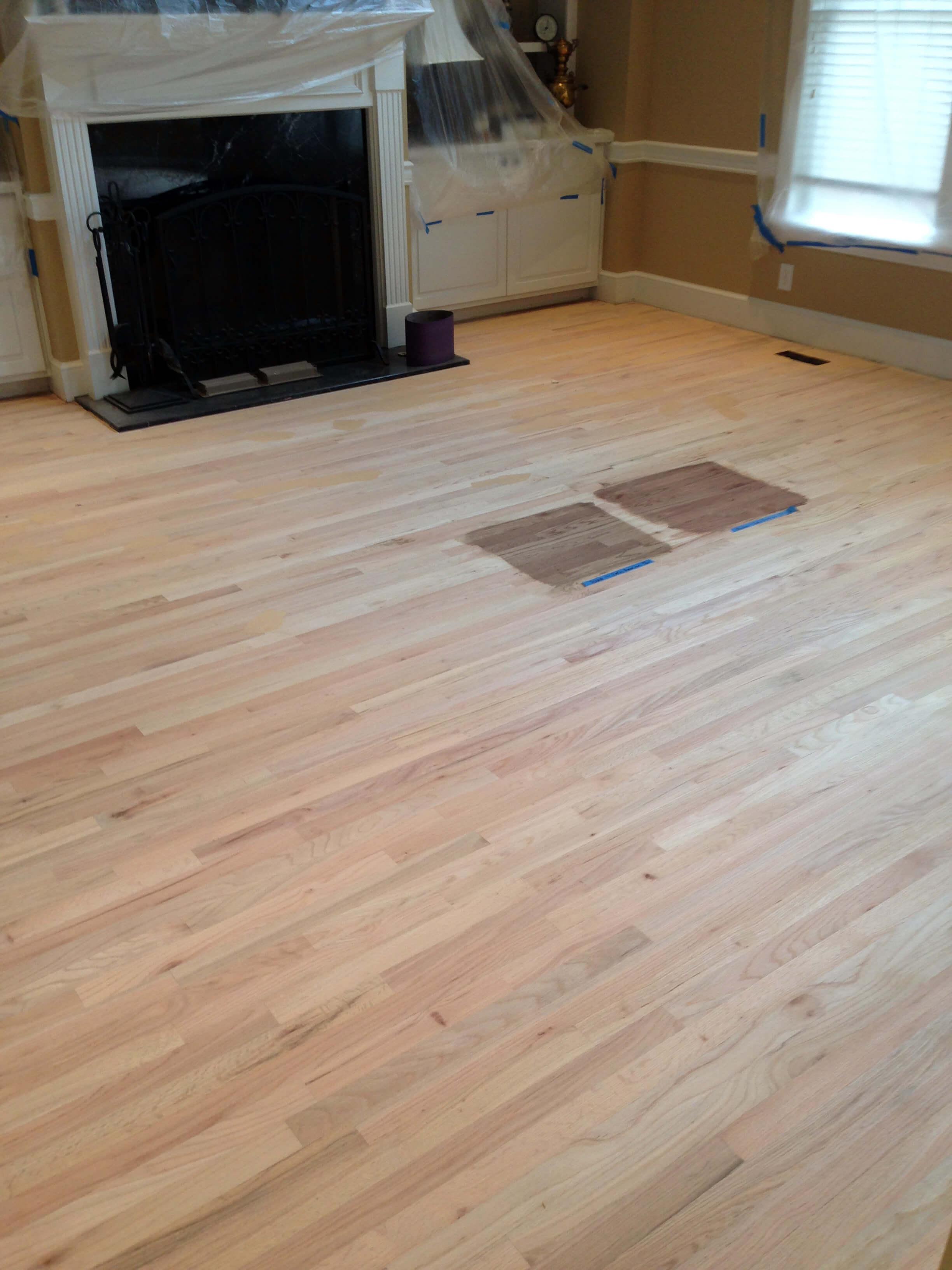 Project - Hardwood Floor Refinishing