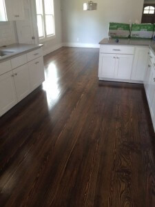 Pine Hardwood Floor Refinishing