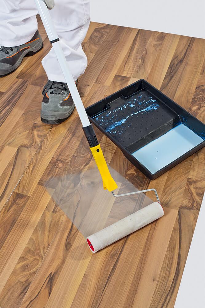 Polyurethane Recoating Vs Refinishing Hardwood Floors Peach